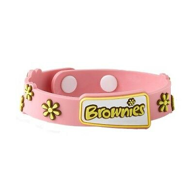 Brownie Wristband Pink Brownies Uniform New