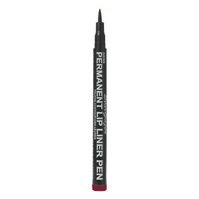 Stargazer Makeup - Semi Permanent Lip Liner Pen Fine Lines Goth - Dark Red