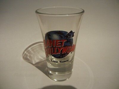 Planet Hollywood Lake Tahoe shot glass