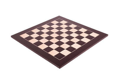 """Wenge & Maple Standard Traditional Chess Board - 2.25"""""""
