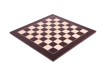 """Wenge & Maple Standard Traditional Chess Board - 2.375"""""""