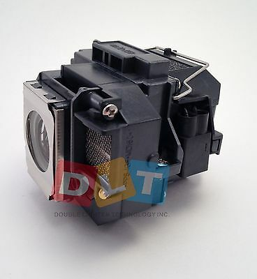 Epson PowerLite S10+ replacement projector lamp with housing ELPLP58 V13H010L58