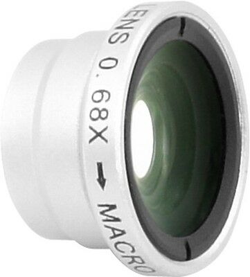 2-in-1 0.68X Wide Angle +1.25X mobile lens IP-W312 with clip for all smart phone