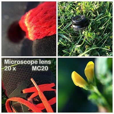 20X MICROSCOPE LENS IP-MC20  mobile phone lens  with  clip for all smart phone