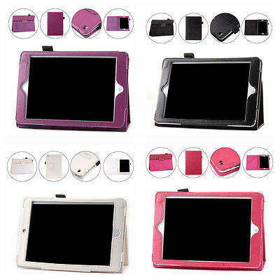 iPad Mini 1, 2 Case Cover Protector with Stand PU Leather 4 Colors - New