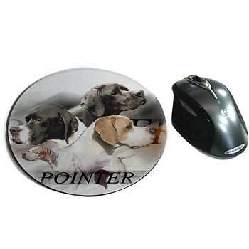 Mousepads fabric English-Pointer