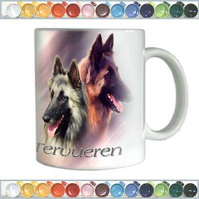 Ceramic mug Dogs belgian shepherd