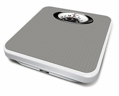 Salter Magnified Bathroom Scales - Mechanical Weight Scales - Silver -  485 SVDR