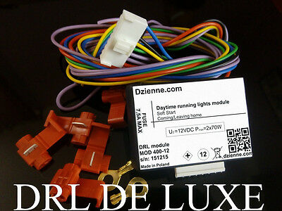 DRL Universal Module Relay Daytime Running Lights with Coming/Leaving Home  !!