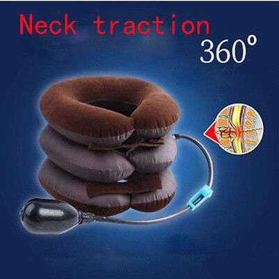 New Adjustable Neck Stretcher Pain Relief Shoulder Tension Back Traction