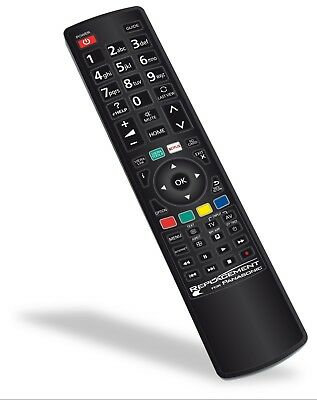 Replacement PANASONIC TV Remote Control EUR7651150 NO PROGRAMMING REQUIRED NEW