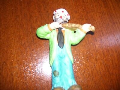 Emmet Kelly Figure Circus Collection Playing Violin