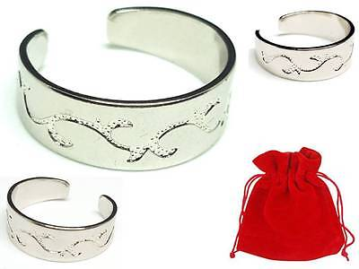 Sterling Silver Coated Adjustable Heart Toe Ring - Buy 2 Get 1 FREE Offer