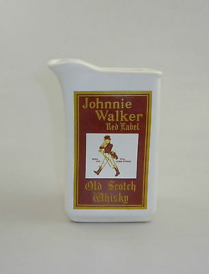 Vintage Australian Johnnie Walker Red Label Promo Jug by Elischer