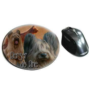 Mousepads fabric Briard