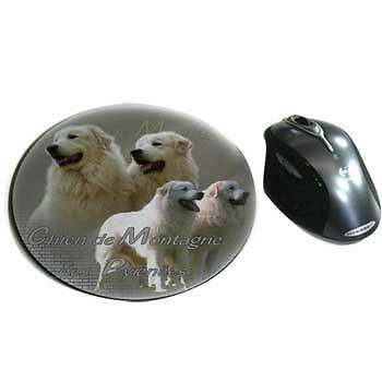 Mousepads fabric Great Pyrenees