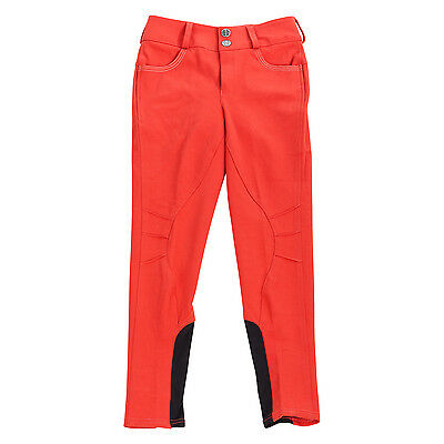 Daisy Clipper Children's Red Butterfly Riding Breeches