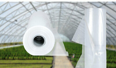 Polly Tunnel Clear Polythene Sheet Cover Greenhouse Foil Raised Bed