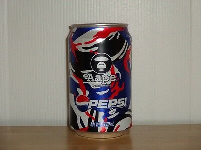 China HongKong Pepsi 2013 Aape By*A Bathing APE Limited Edition Scrub Can