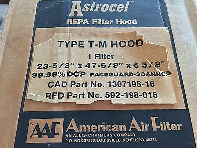 New! American Air Filter Type T-M Hood 1307198-16 592-198-016