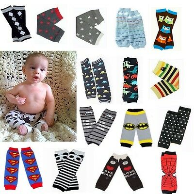 Baby Toddler BOYS LEG WARMERS  - BUY 3, GET ONE FREE - MANY STYLES!