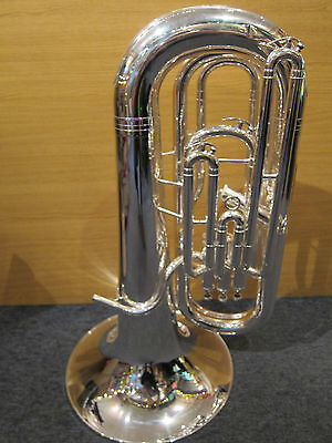 Catelinet CTU12S  Eb Bass Tuba - Silver-Plated (used instrument)