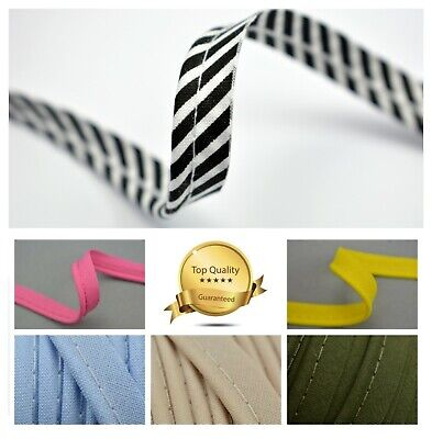 3 MTRS Flanged Piping Insertion Cord Rope Bias Piping Trim Sewing Upholstery SML
