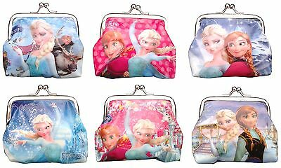 Frozen Elsa & Anna Coin Purses Great Filler Party Bag Birthday Gift Lunchbox