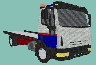 Iveco Eurocargo embroidered on Polo Shirt