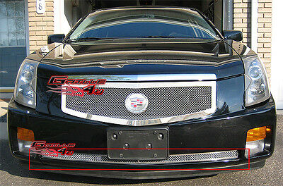 APS 2003-2007 Cadillac CTS Bumper Stainless Mesh Grille Insert 04 05 06