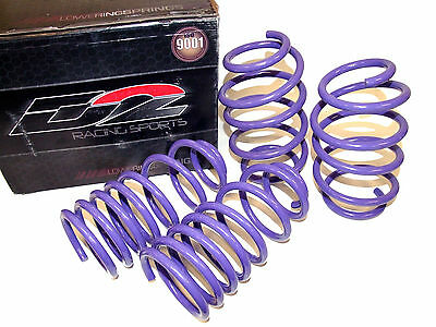 D2 Racing Lowering Springs for 06-11 Honda Civic Coupe & Sedan & Si