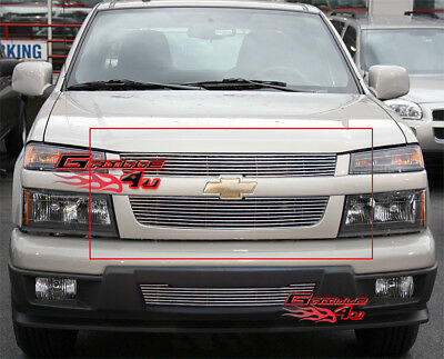 Fits 04-11 2011 Chevy Colorado Billet Grille Insert 2005 2006 2007 2008 2009