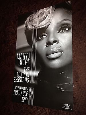 Mary J. Blige - The London Sessions - Poster - R&B - Bad Boy Reunion - Diddy USA