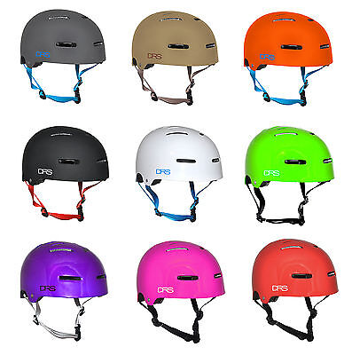 Drs Skate Scooter Bmx Asa Approved Helmet - Choose Size And Colour Free Freight