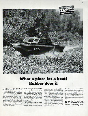 1946 B.F. Goodrich Rubber ad Bearings,Conveyor Belts,Air hoses ad --p-943