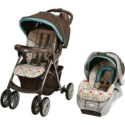 Graco Spree Travel System, Twister - Great Bundle! Free Shipping!