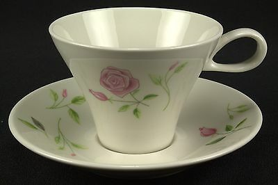 HARD TO FIND Iroquois Wild Rose Cup & Saucer Set(s) Flowers