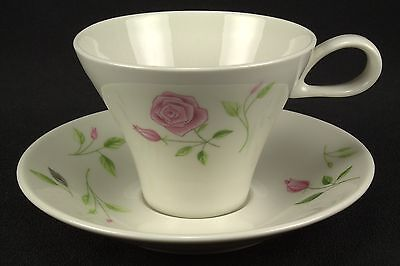 HARD TO FIND Iroquois Wild Rose Cup and Saucer Set(s) Flowers BASE STAINS