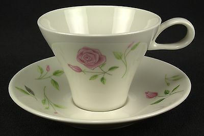 HARD TO FIND Iroquois Wild Rose Cup & Saucer Set(s) Flowers BASE STAINS