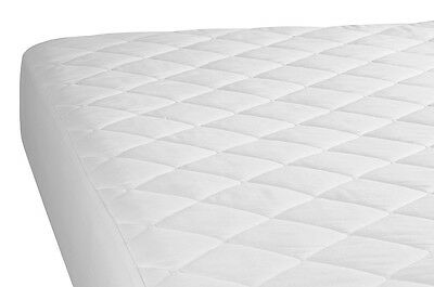 Quilted Mattress Protector Cover Single Double King Super King - Fully Fitted