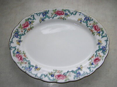 Booth's FLORADORA Small Oval Platter