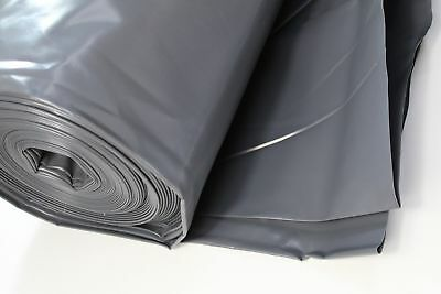 Black Polythene Sheeting Damp Proof 6 Meters Wide DPM Film 300mu Concrete Cover