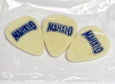 Mahalo Felt Pick Plectrum for Ukulele or Banjo - Pack of Three