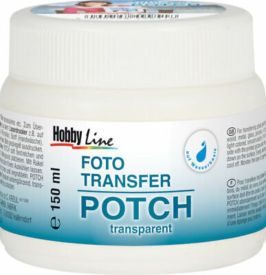 Foto Transfer POTCH Hobby Line 150ml transparent (3,33€/100ml) Kreul