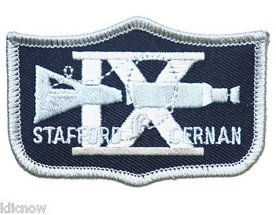 Gemini 9 Mission Embroidered Patch (Official Patch) 7.5cm x 5cm approx