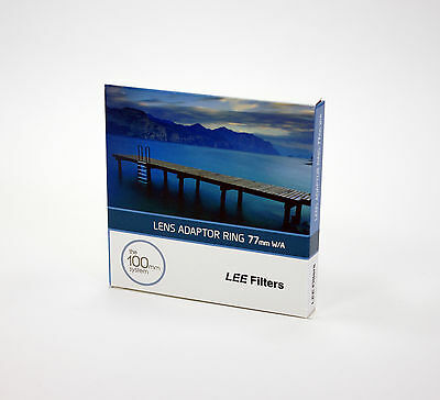 Lee Filters 77mm Wide Adapter Ring fits Canon EFS 17-55mm F2.8 IS USM
