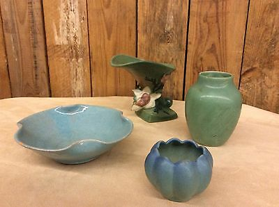 Rookwood, Van Briggle, A R Cole, & Roseville pottery collection