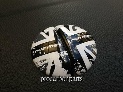 Grunge Black Union Jack Style for BMW MINI Cooper Countryman ONE SD S ALL4 JCW