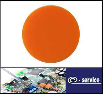 Plain Plastic Tokens - 38mm Orange - Great for events or voting boxes, 10, 50+