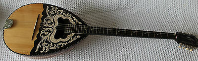 Greek Bouzouki 8 Strings Buzuki With Case